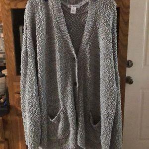 Gray sweater size 3X